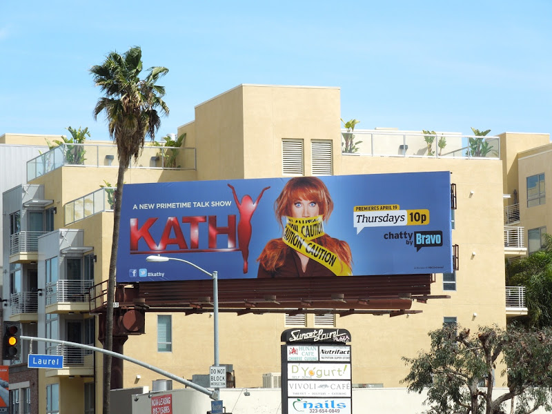 Kathy Griffin talkshow billboard