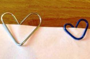 LOVE CLIP - Trik Ubah Klip KERTAS Menjadi Bentuk HATI