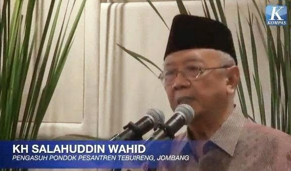 Sholahudin Wahid: Hari Santri Nasional Baru Angin Surga