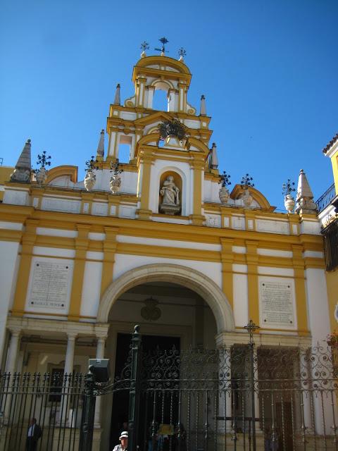 Basilica de Macarena in Seville, Spain.