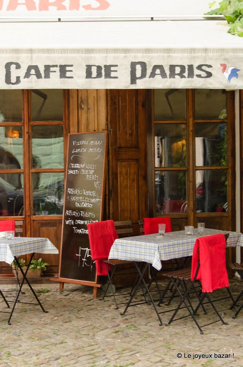 Prague - Mala Strana - café de Paris