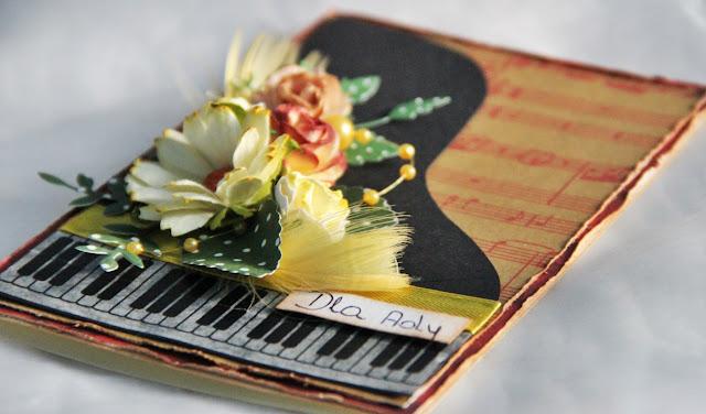 kartka fortepian, kartka warstwowa