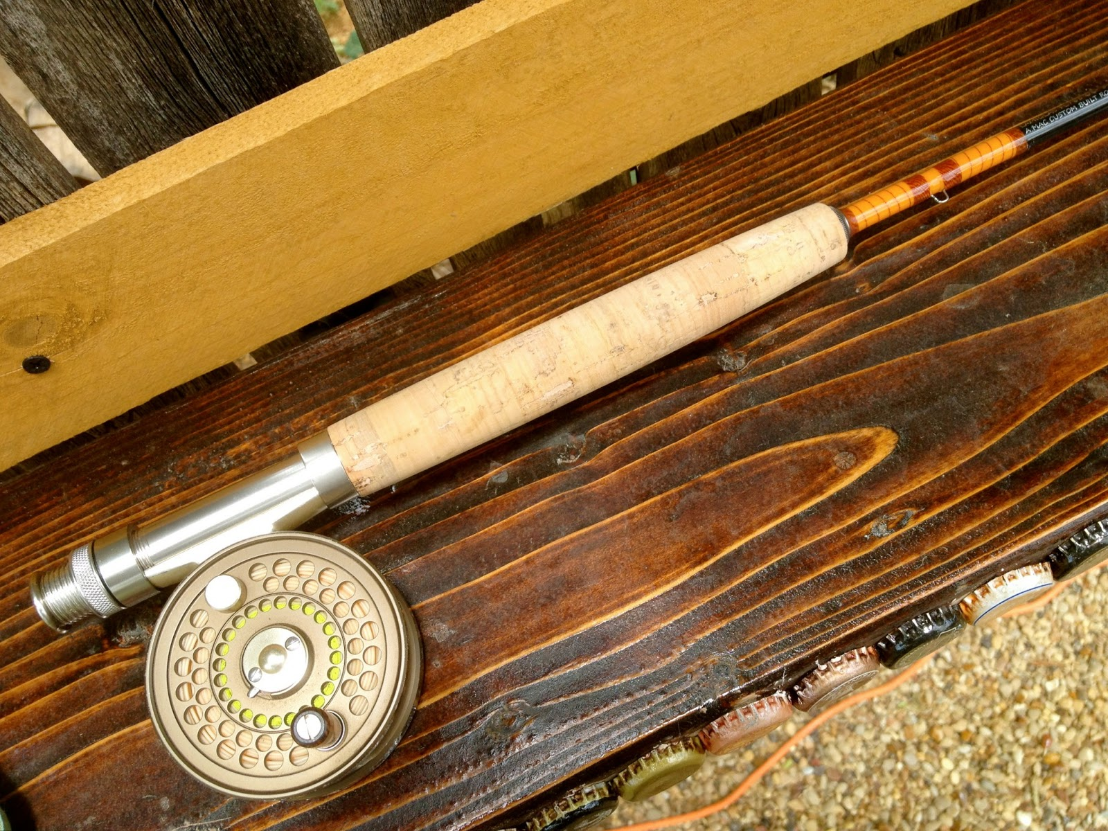 In search of wild trout the old for Antique fishing rods
