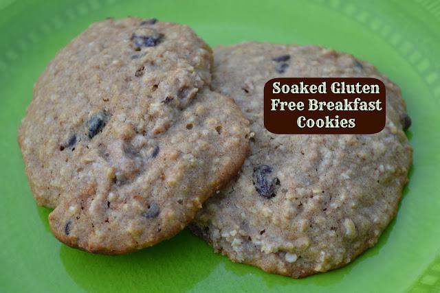 soaked gluten free breakfast cookies makes 10 12 cookies