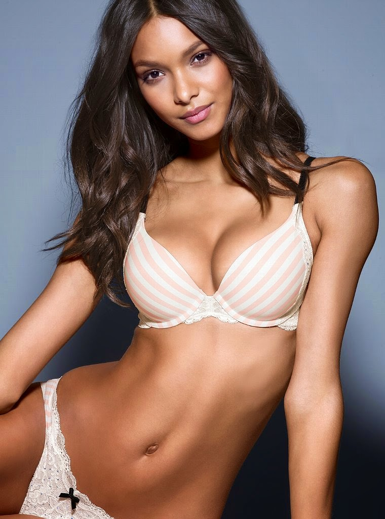 Laish Ribeiro is a seasoned model woman from the company the famous Victoria's Secret this time/2014 is.