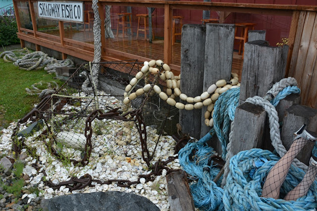 Skagway Alaska fish net