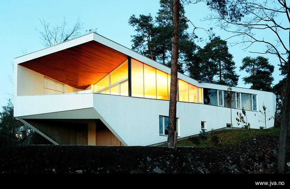 Arquitectura de casas casa ultra moderna en noruega for Casas en noruega