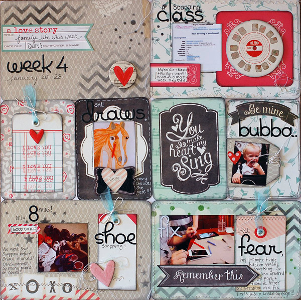 Quintessentially Me My Creative Scrapbook Project Life Style