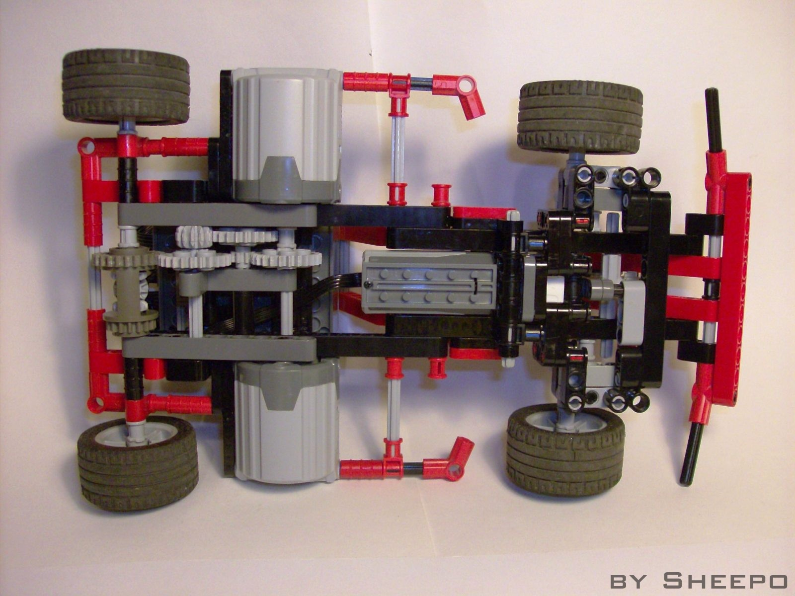 Advices To Build A Competitive Rc Car A Lego Creation By Sheepo S