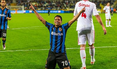 Carlos Bacca, entre los grandes de Europa