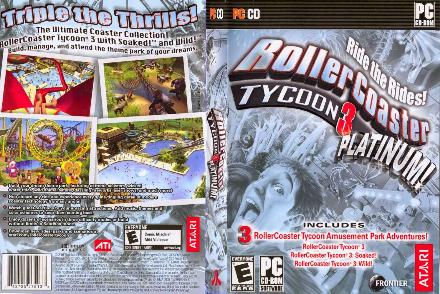 rollercoaster tycoon 3 download full game