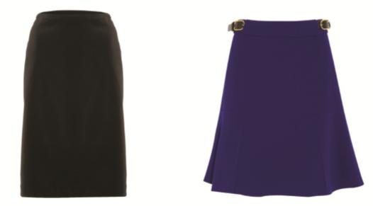 faldas para cuerpo triángulo