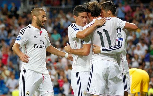 Big Match Atletico Madrid vs Real Madrid Champions League