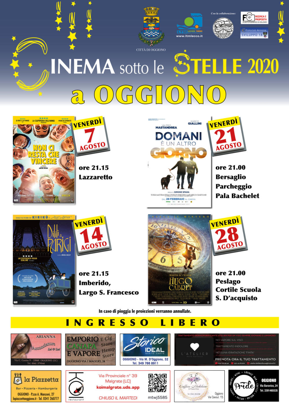 Cinema a Oggiono