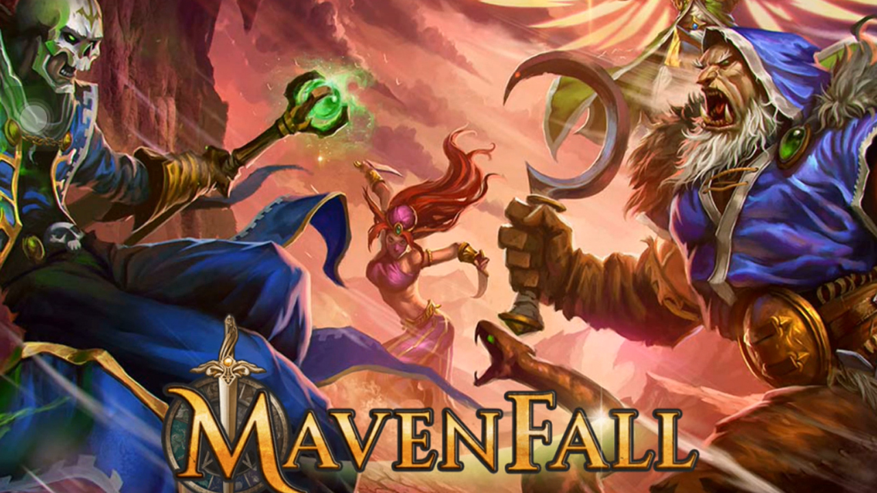 Mavenfall Gameplay IOS / Android