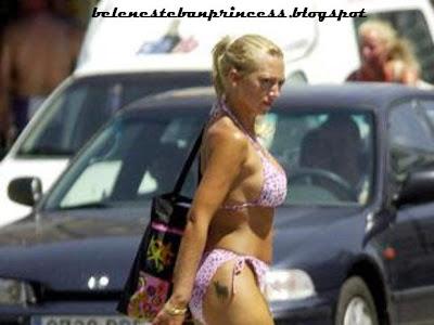 bikini joven belen esteban calle cuerpazo