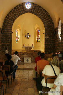 Chapel of the Primacy of St Peter | The Sea of Galilee