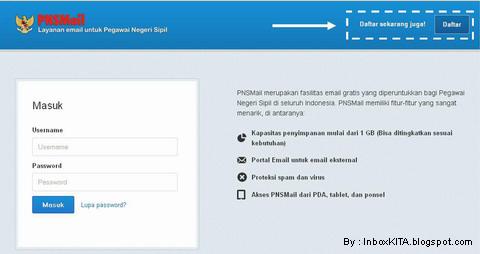 Cara Membuat Email Khusus PNS