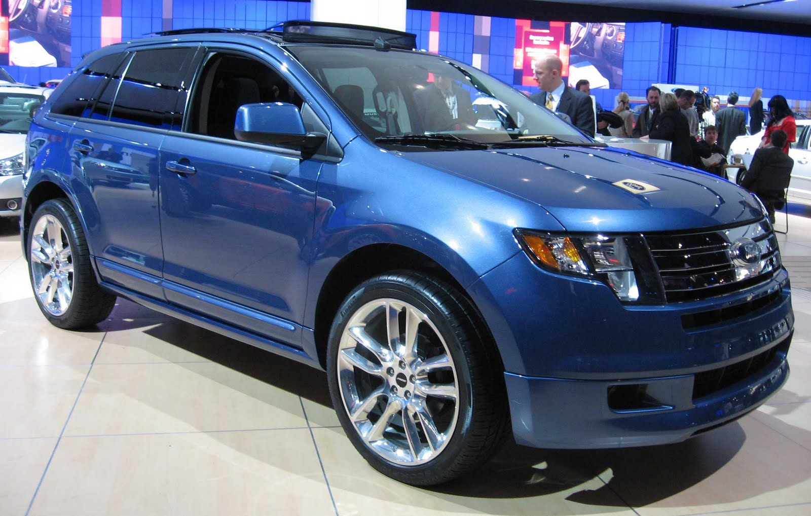 The world sports cars: custom ford edge
