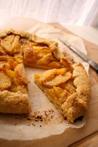 ... Exercise & Nutrition On A Budget: Frugal Recipe: Fresh Peach Crostata