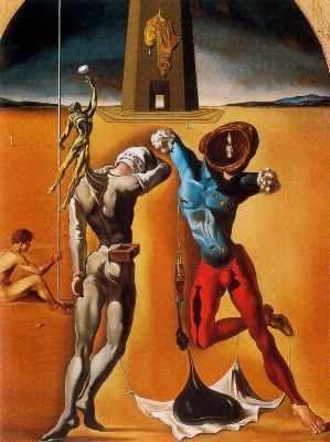 Salvador Dalí Los atletas cósmicos