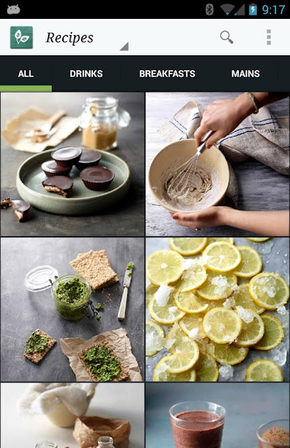 The Whole Pantry Android app for Cooking