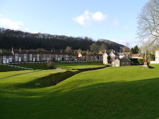 The impressive village green at Hutton-le-Hole