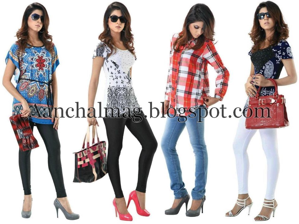 eb2dfa7c2 Aanchalmag  Cougar Summer Casual Wear 2012 For Girls