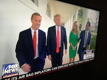 POTUS Hosts FOX and Friends as Major Speech Looms