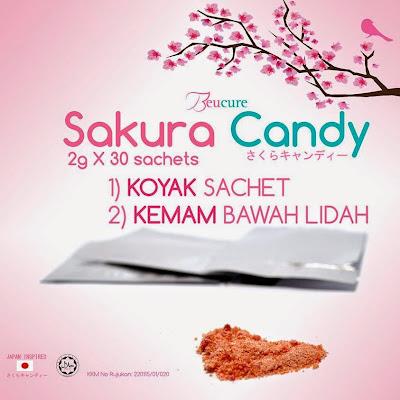 Sakura Candy - Mencerah dan Menjaga Dalaman Wanita