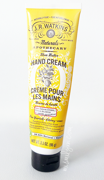 hand cream lemon