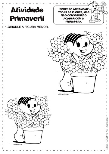 Atividade Primavera Maior/Menor