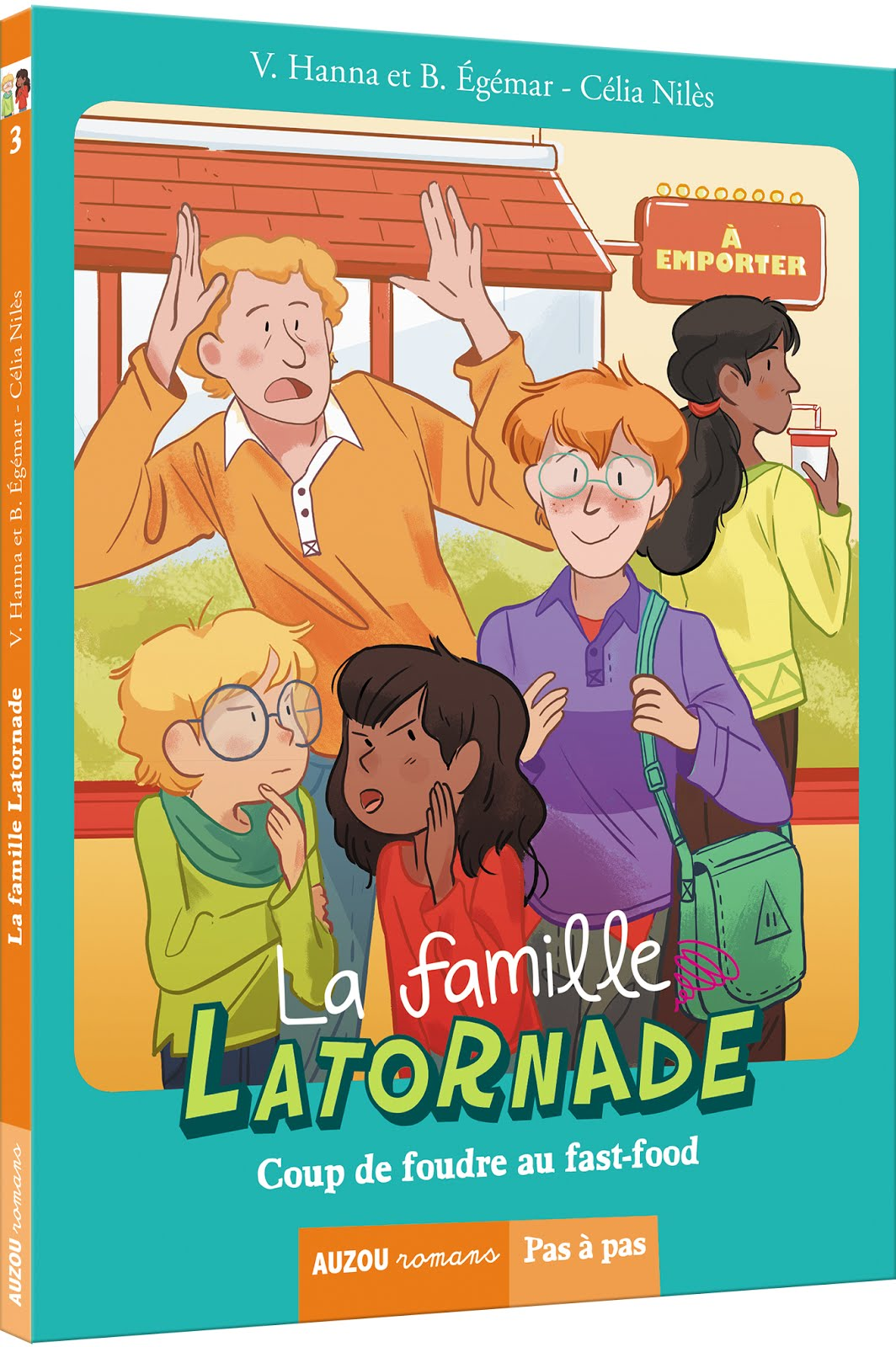 La Famille Latornade, Coup de foudre au fast food