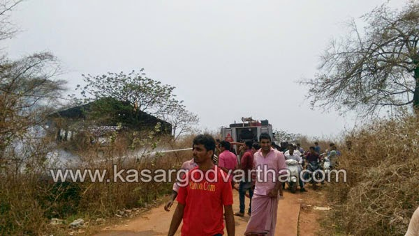 Kasaragod, Kerala, Thalangara, fire, fire force, Harbor, Information, Fire in Thalangra Harbor.