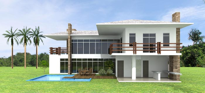 Arts storm projetos e desenhos projetos em autocad 2d e 3d for Casas en 2d