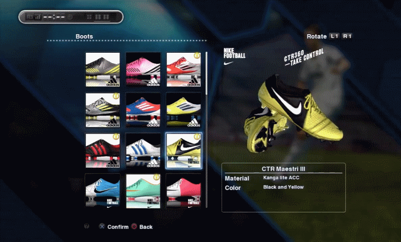 DLC package for PES 2013, along with the game's first-ever patch
