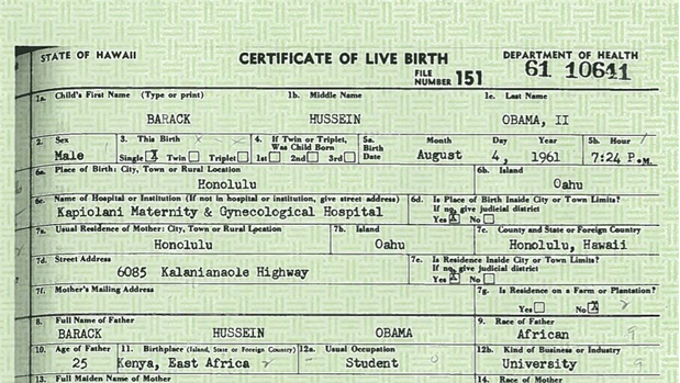 The vail spot obamas birth certificate update obama releases a scanned copy of his certificate of live birth but not the long form birth certificate that for example the us state department yadclub Choice Image