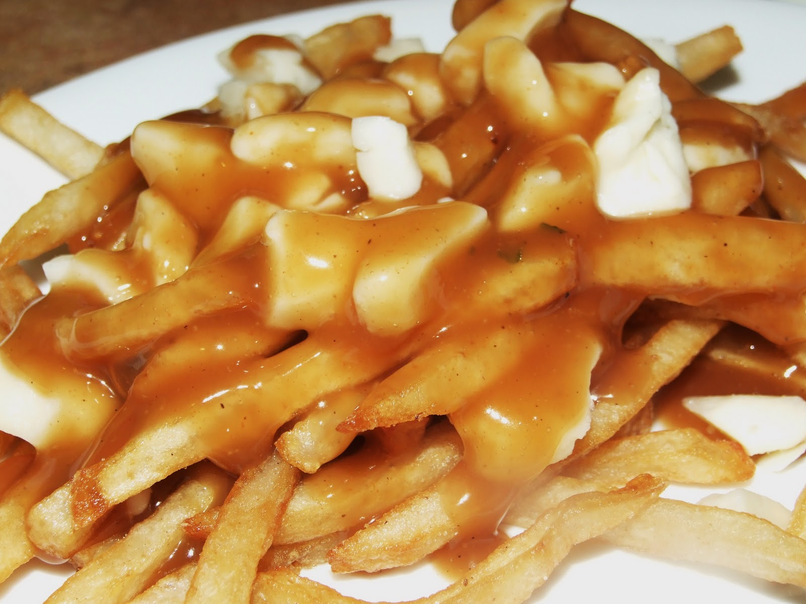 Poutine, a Canadian Food