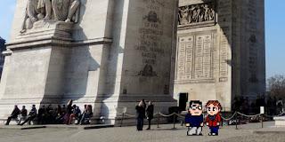 Casal Geek Eurotour 2013 - Descobrindo Paris - Arc de Triomphe