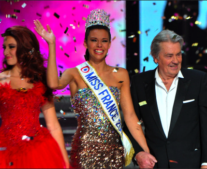 Miss France 2013 winner Marine Lorphelin