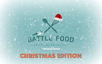 Brioche fourrée à la pâte de noisettes en forme de sapin de Noël - Battle Food #38