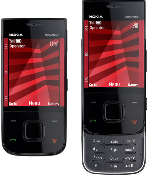 Nokia 5330 Xpress Music Mobile Famous