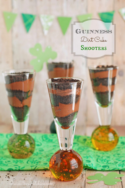 #Guinness #dirtcake #shooters #stpatricksday #darkchocolate