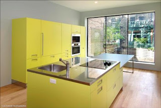 Kitchen Cabinets Yellow