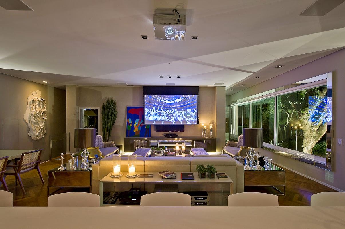 Sala De Jantar E Estar Integradas ~  – SALA DE JANTAR # decoracao de cozinha integrada a sala de jantar