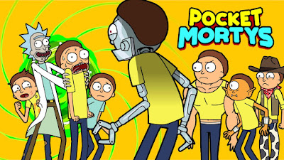 Pocket Mortys 1.0.5 game for Android