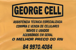 George Cell - Fone: (84)-99977-7849