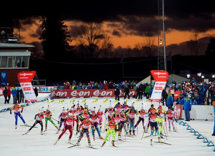 Стар сезона 2013/14 в шведском Эстерсунде. Смешанная эстафета