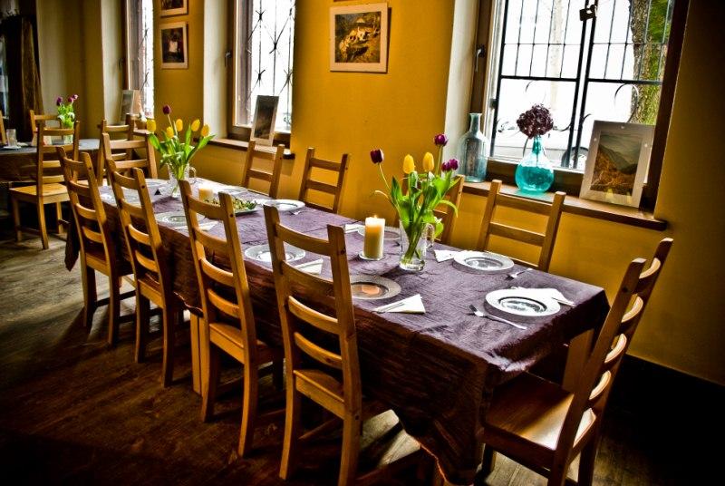 Ciagoty i Tesknoty restauracja łódź od kuchni