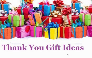 Thank You Gift Ideas